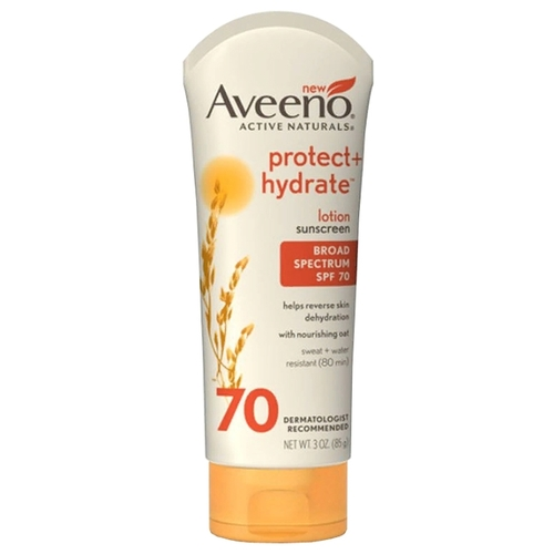 AVEENO Protect + Hydrate солнцезащитный лосьон SPF 70