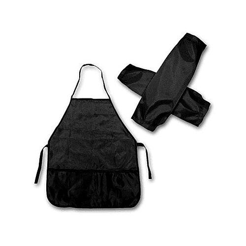 Купить Проф-Пресс Фартук с нарукавниками (ФН-5329) черный, Одежда для уроков труда