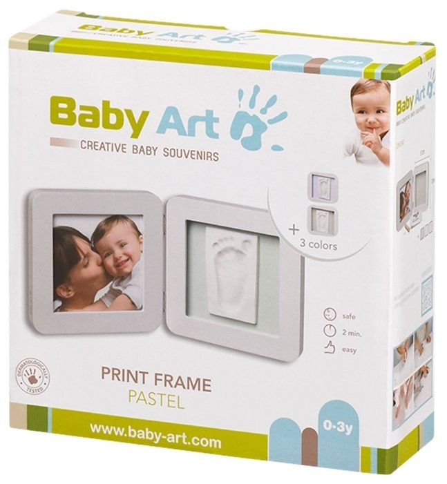 Baby Art Creative baby souvenirs - Print frame pastel (34120138)