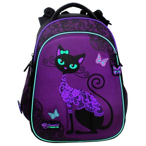 цена Hummingbird Рюкзак Black Cats (T71), фиолетовый онлайн в 2017 году