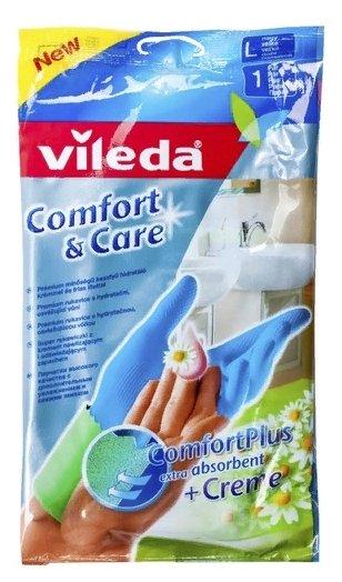 Перчатки Vileda Comfort & Care
