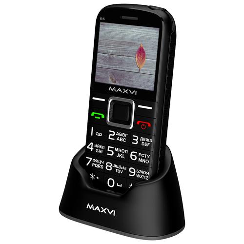 Телефон MAXVI B5 черный телефон maxvi b5