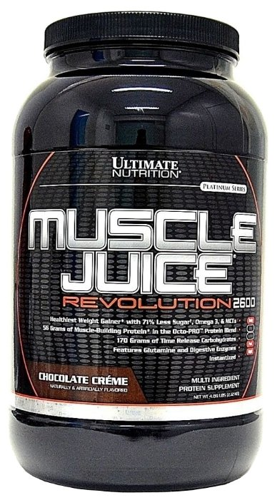 Гейнер Ultimate Nutrition Muscle Juice Revolution (2.12 кг)