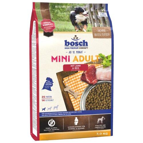 Сухой корм для собак Bosch Adult ягненок 3 кг (для мелких пород)