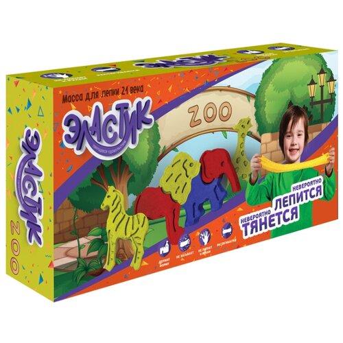 Масса для лепки Эластик Zoo 360 гр (PE0425) масса для лепки эластик candy