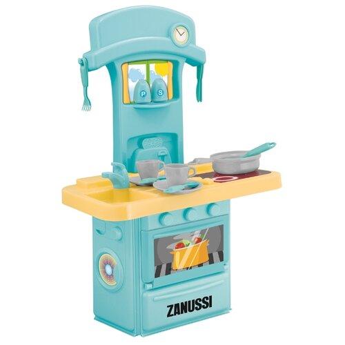 Купить Кухня HTI Zanussi 1684200.00 желтый/голубой, Детские кухни и бытовая техника