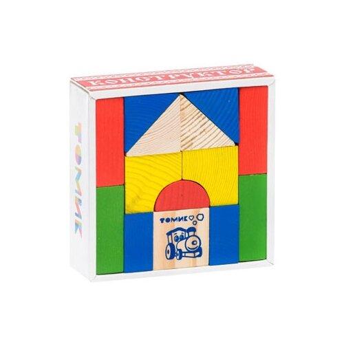 Купить Кубики Томик Цветной 6678-14, Детские кубики