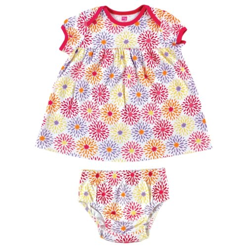 Комплект одежды Hudson Baby размер Large, розовый ЦветочкиКомплекты<br>