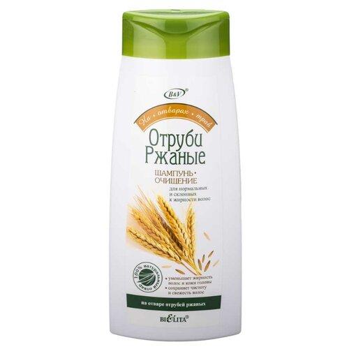 Bielita шампунь-очищение Отруби ржаные для нормальных и жирных волос 480 мл
