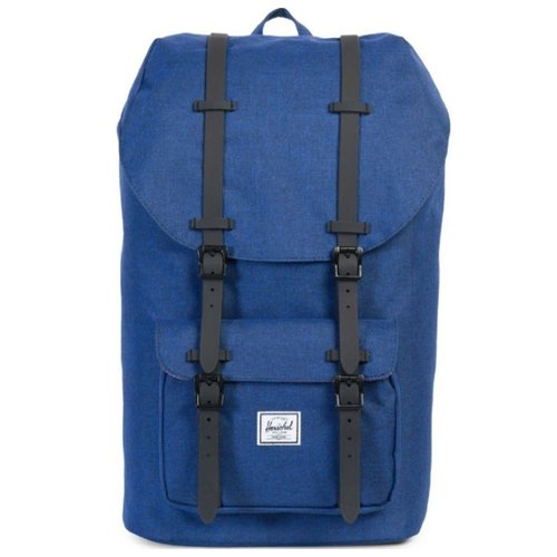 Рюкзак Herschel Little America blue (Eclipse Crosshatch/Black Rubber)Рюкзаки<br>