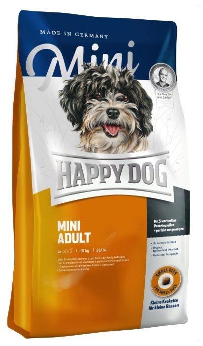 Корм для собак Happy Dog Supreme Fit&Well - Adult Mini для взрослых собак мелких пород