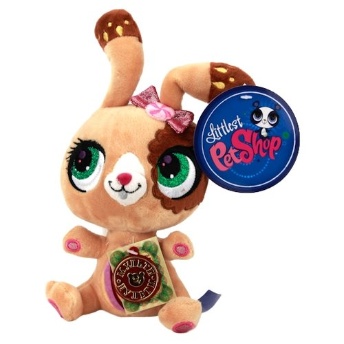 Купить Мягкая игрушка Мульти-Пульти Littlest pet shop Кролик 17 см, Мягкие игрушки