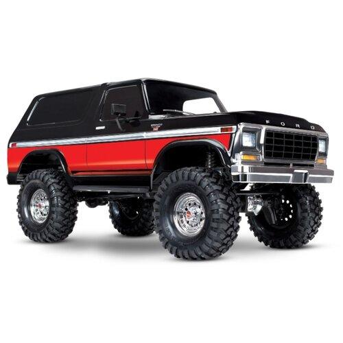 Купить Внедорожник Traxxas Ford Bronco XLT Ranger (TRA82046-4) 1:10 58.6 см черный/красный, Радиоуправляемые игрушки