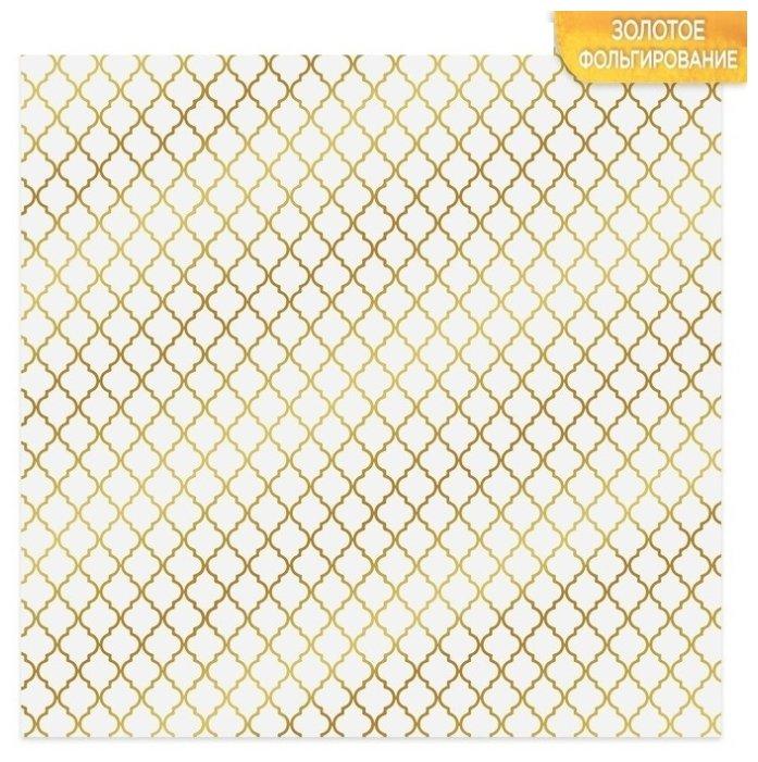 Бумага Арт Узор 30.5x30.5 см, 10 листов, Восток