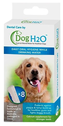 Поилка Feed-Ex Таблетки для гигиены полости рта Dental Care для поилок CatH2O и DodH2O 8 шт. DH08DC