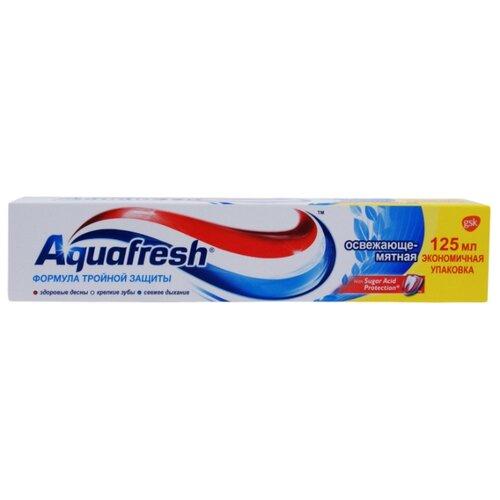 Зубная паста Aquafresh Освежающе-мятная 125 млЗубная паста<br>