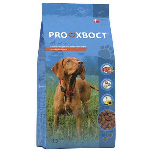 Корм для собак PROхвост (13 кг) Сухой корм Мясное ассортиКорма для собак<br>