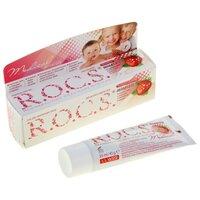 R.O.C.S. Зубной гель  Medical Minerals со вкусом клубники 0+