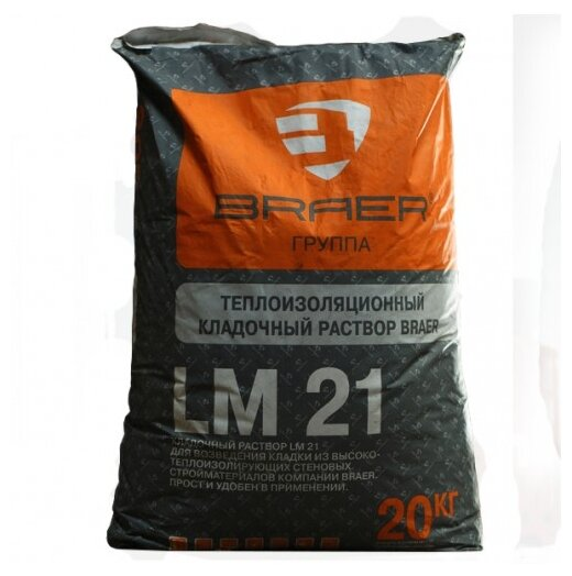 Строительная смесь Braer LM 21 Winter