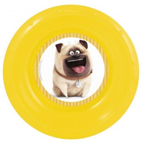Stor Миска Тайная жизнь домашних животных желтый