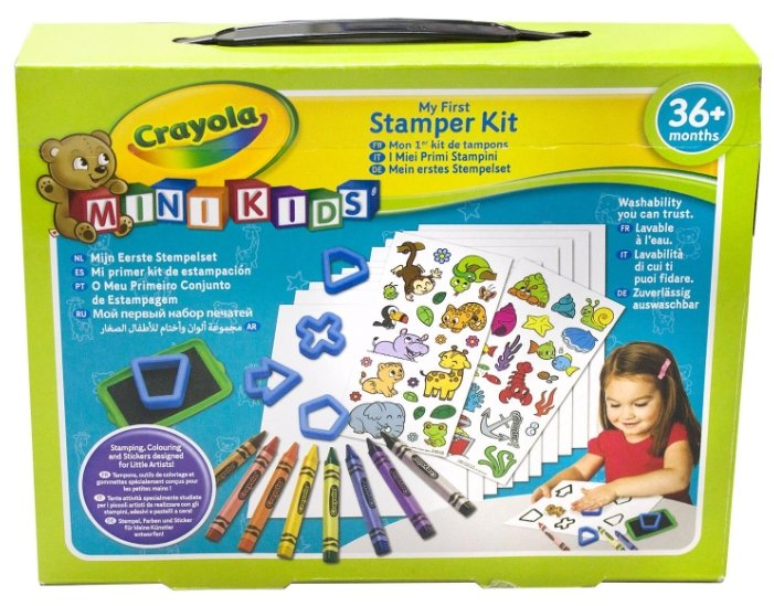 Crayola Mini Kids Мой первый набор печатей (81-1359)