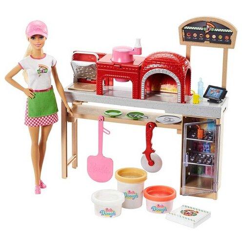 Купить Набор Barbie Шеф-повар пиццы, FHR09, Куклы и пупсы