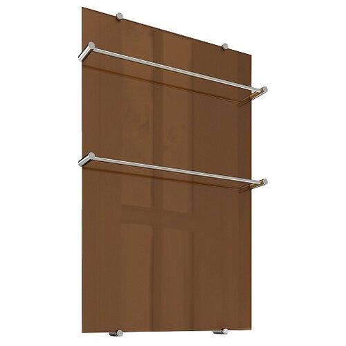 Электрический полотенцесушитель Теплолюкс Flora 90x60 коричневый