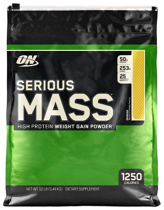 Гейнер Optimum Nutrition Serious Mass (5.44 кг)