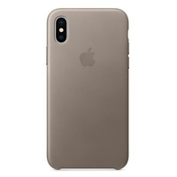 Чехол Apple iPhone X Leather Case