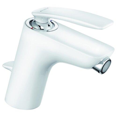 Смеситель для биде KLUDI Balance 52216 9175 однорычажный двухцветный белый/хром смеситель для биде kludi kludi balance 522169175