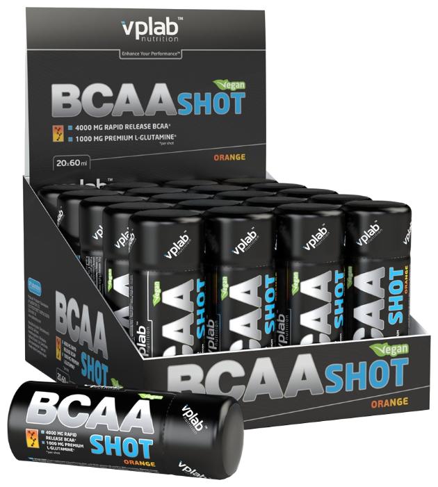 BCAA VP Laboratory BCAA Shot (20 ампул х 60 мл)
