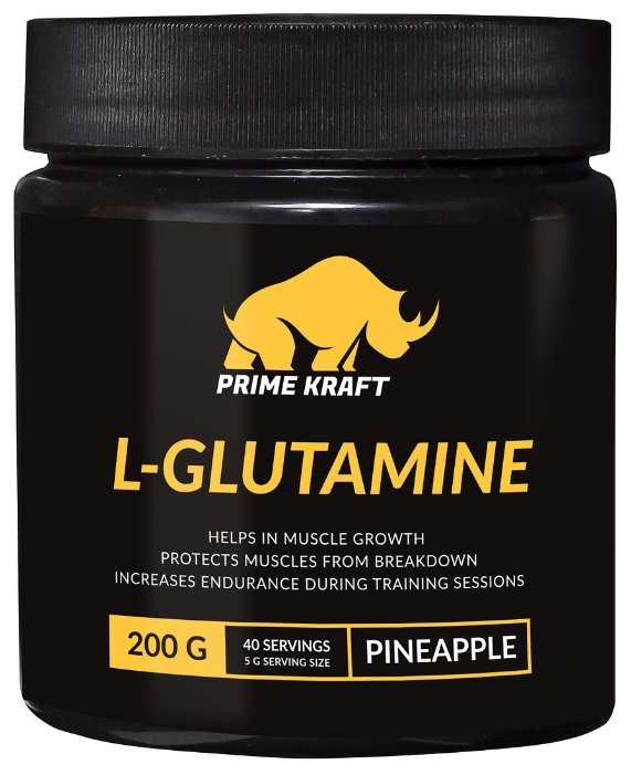 Аминокислота Prime Kraft L-Glutamine (200 г)