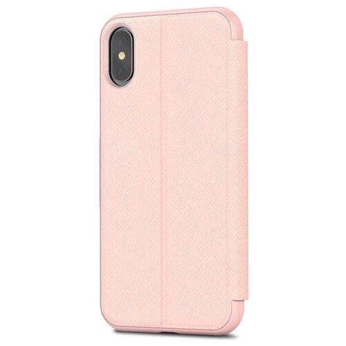Чехол Moshi SenseCover для Apple iPhone X luna pinkЧехлы<br>
