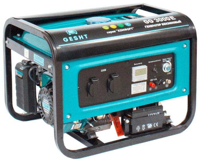 Бензиновый генератор Gesht GG3000E (2800 Вт)