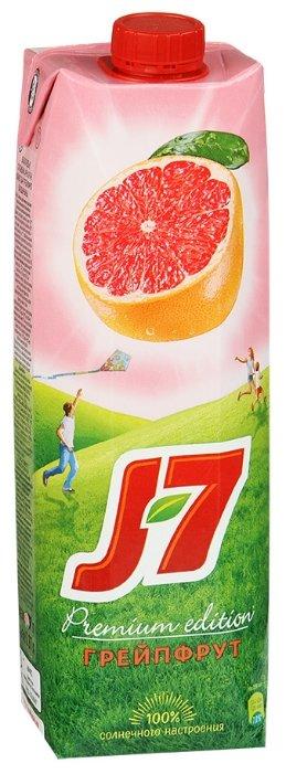 Нектар J7 Грейпфрут, с крышкой, без сахара