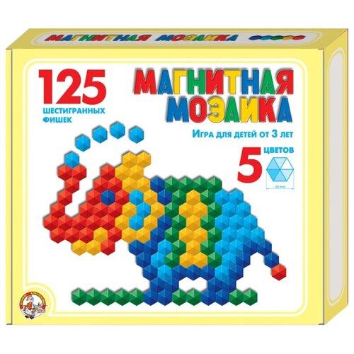 Десятое королевство Мозаика магнитная шестигранная 125 элементов (00962)