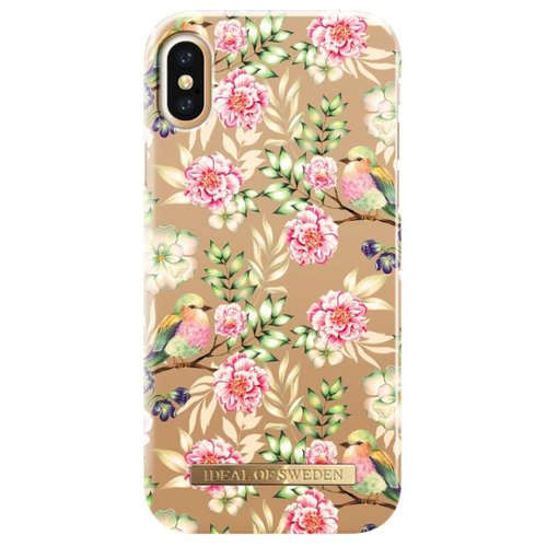 Чехол iDeal of Sweden для iPhone X champagne birds клип кейс ideal iphone x champagne birds