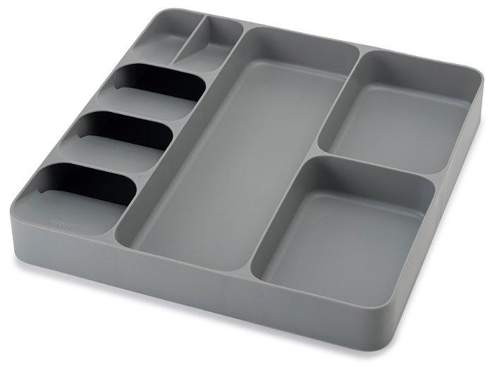 Органайзер для столовых приборов и кухонной утвари JOSEPH JOSEPH DrawerStore серый