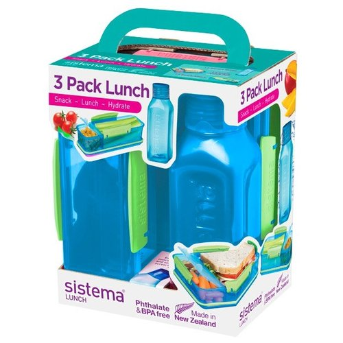Sistema Набор для ланча Lunch 1595 синий