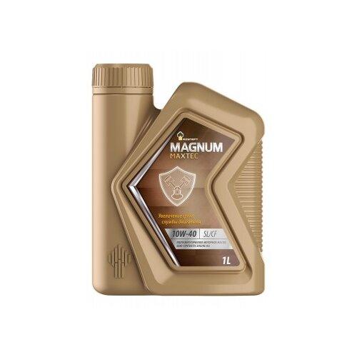 Фото - Моторное масло Роснефть Magnum Maxtec 10W-40 1 л rosneft масло моторное rosneft magnum maxtec 5w40 5л