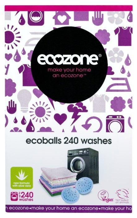 Шары для стирки ECOZONE Ecoballs Aloe Vera