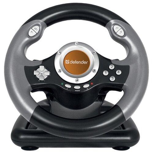 Руль Defender Challenge Mini LE черный/серый