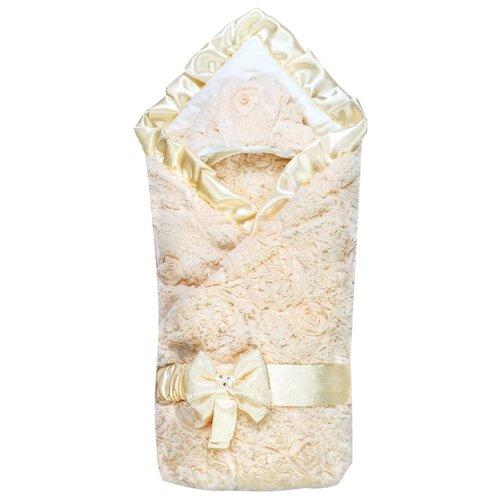 Конверт-одеяло Сонный Гномик на выписку Афина 95 см молочный сонный гномик простыня круглая на резинке молочный
