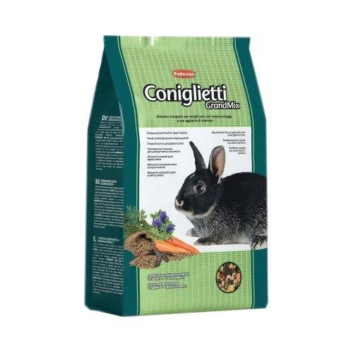 Комплексный корм для декоративных кроликов Padovan GrandMix Сoniglietti 3 кг
