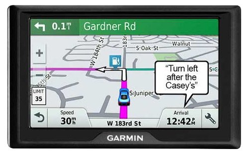 Навигатор Garmin Drive 61 MPC