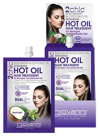 Giovanni 2chic Repairing Горячее восстанавливающее масло-уход для волос