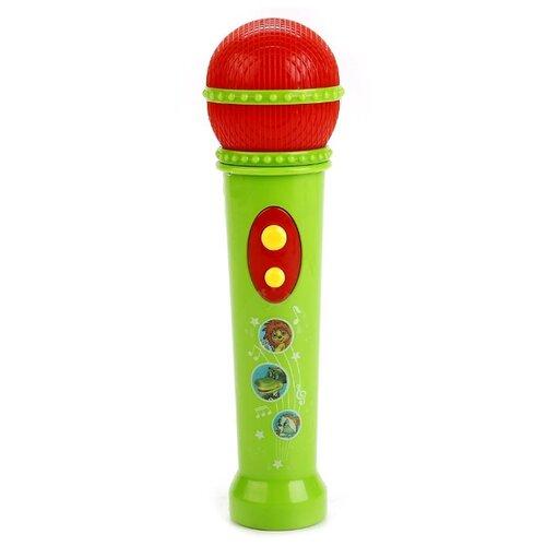 Умка микрофон B1433764-R1 зеленый/красный, Детские музыкальные инструменты  - купить со скидкой