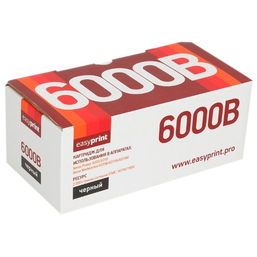 Фото - Картридж EasyPrint LX-6000B, совместимый картридж easyprint lx 6000c