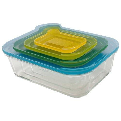 Joseph Joseph Набор контейнеров для хранения продуктов Nest 81060 разноцветный joseph joseph nest зеленый