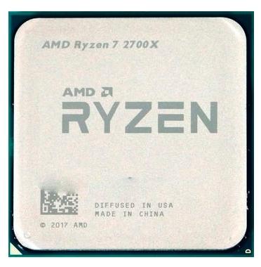 Процессор AMD Ryzen 7 2700X Pinnacle Ridge (AM4, L3 16384Kb)